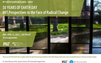 50 Years of Earth Day: MIT Perspectives in the Face of Radical Change